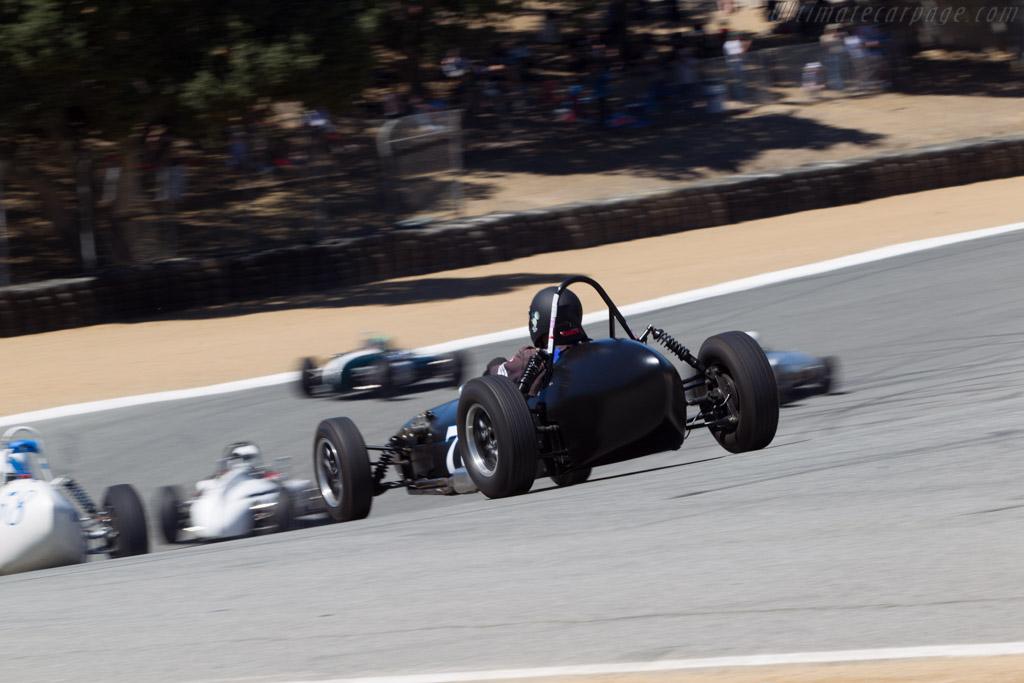 Huffaker Formula Junior - Chassis: XP001 - Driver: Mark Sange  - 2013 Monterey Motorsports Reunion