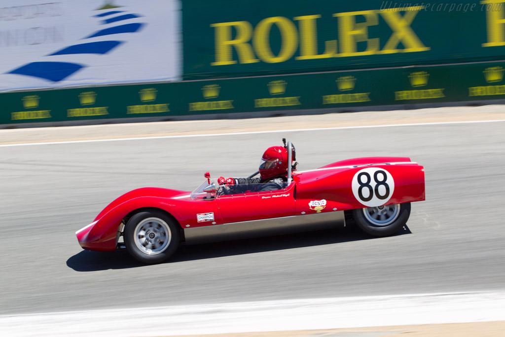 Huffaker Mk V  - Driver: Michael Vogel - 2013 Monterey Motorsports Reunion