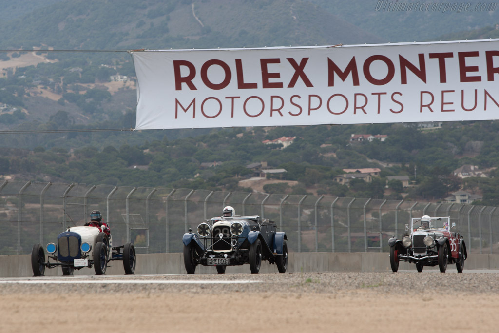 Lagonda 2 Litre Speed - Chassis: 9517 - Driver: Graham Wallis  - 2013 Monterey Motorsports Reunion