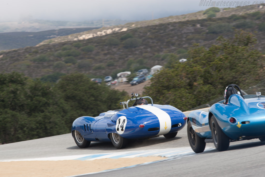 Lister Costin Chevrolet - Chassis: BHL 124 - Entrant: Rob Walton - Driver: Bruce Canepa  - 2013 Monterey Motorsports Reunion
