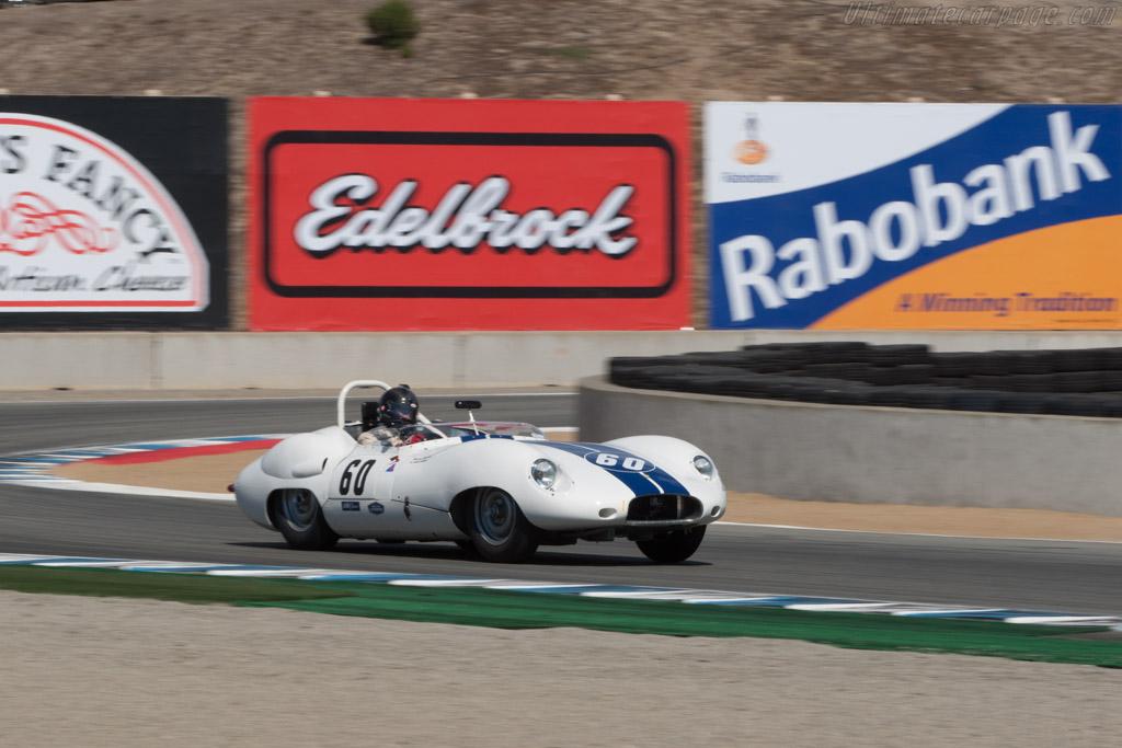 Lister Costin Jaguar - Chassis: BHL 123 - Driver: Eric Engelhorn  - 2013 Monterey Motorsports Reunion