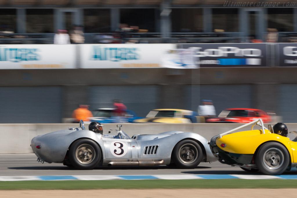 Lister Knobbly - Chassis: BHL 107 - Driver: Al Arciero  - 2013 Monterey Motorsports Reunion