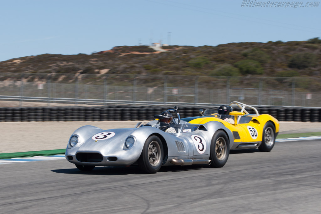 Lister Knobbly - Chassis: BHL 107 - Driver: Al Arciero  - 2013 Monterey Motorsports Reunion