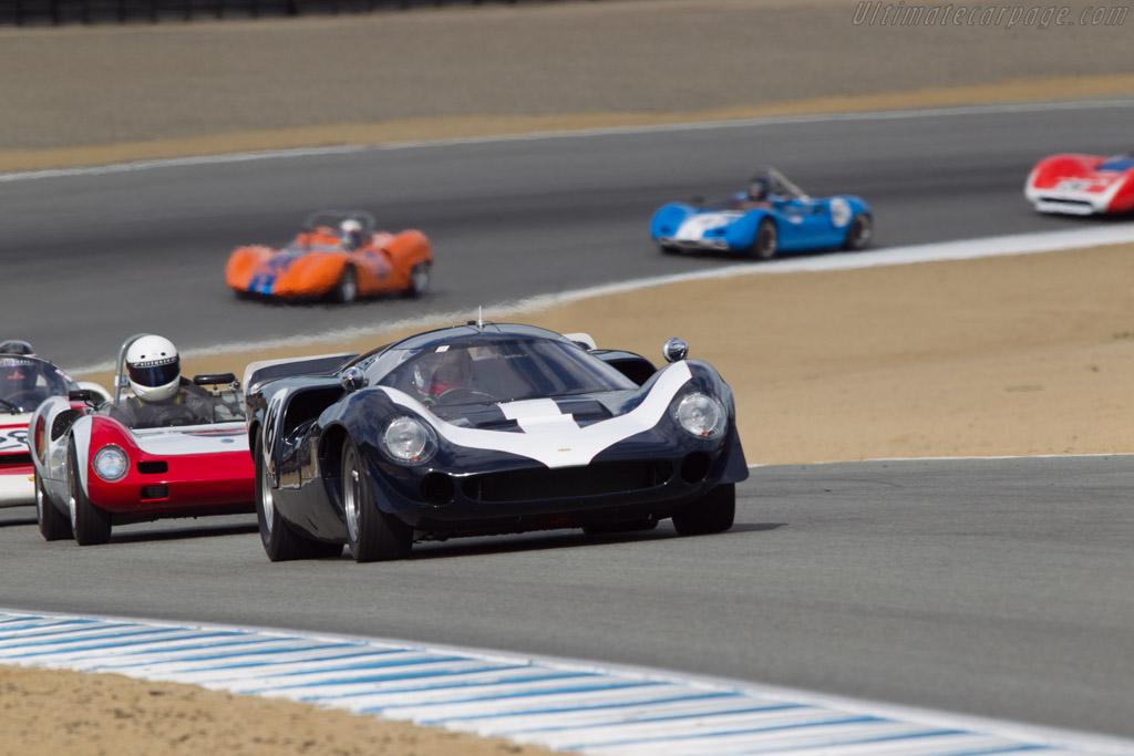 Lola T70 Mk3 Aston Martin - Chassis: SL73/121A - Driver: James Freeman  - 2013 Monterey Motorsports Reunion