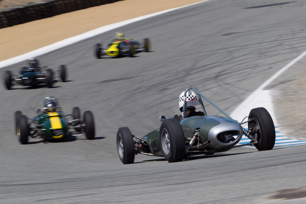 Lotus 22 - Chassis: 22/FJ/17 - Driver: Carl Moore  - 2013 Monterey Motorsports Reunion