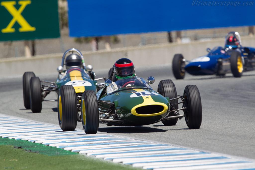 Lotus 22 - Chassis: 22J19 - Driver: Patrick Moran  - 2013 Monterey Motorsports Reunion