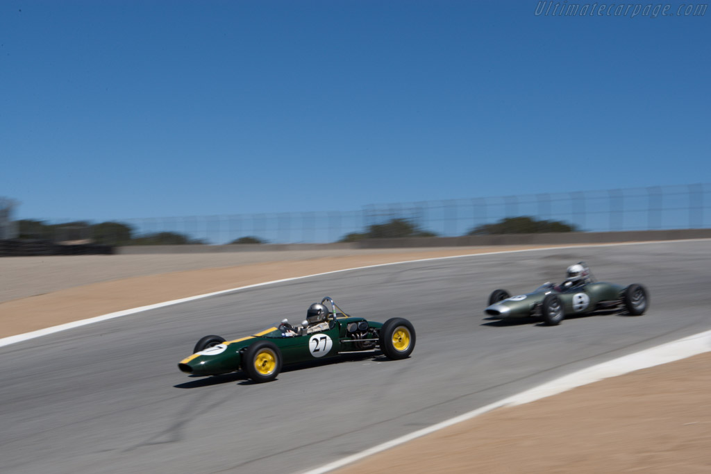 Lotus 27 - Chassis: 27/JM/22 - Driver: Chris Locke  - 2013 Monterey Motorsports Reunion