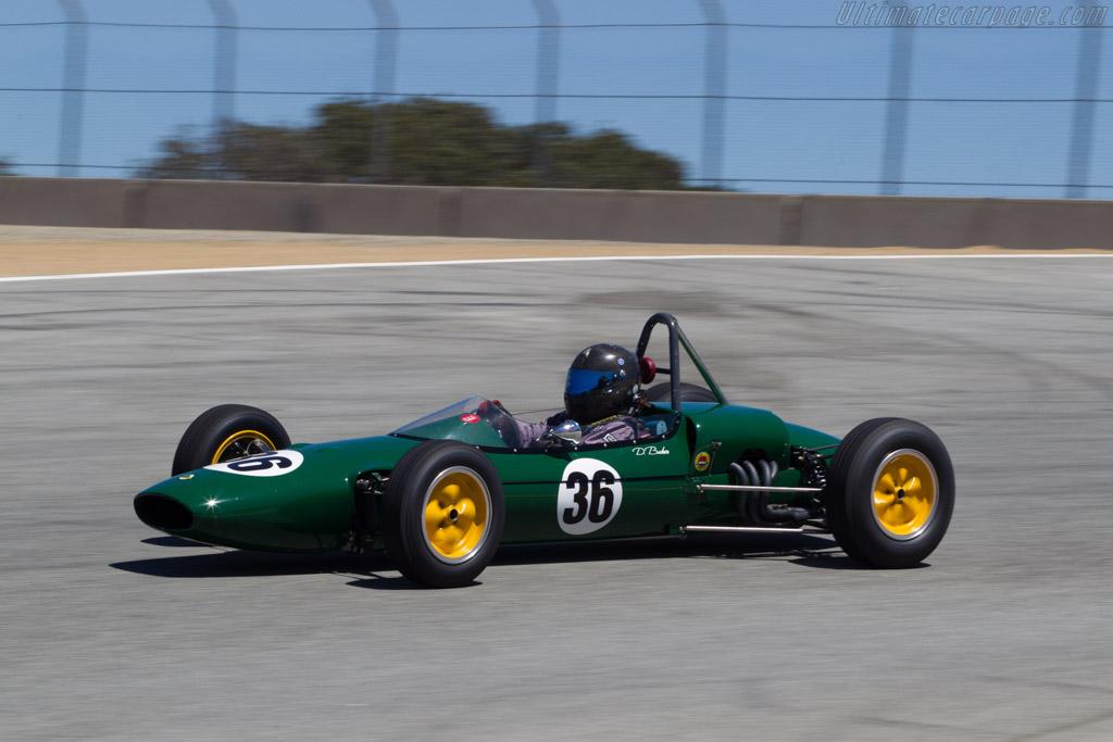 Lotus 27 - Chassis: 27/JM/36 - Driver: Danny Baker  - 2013 Monterey Motorsports Reunion