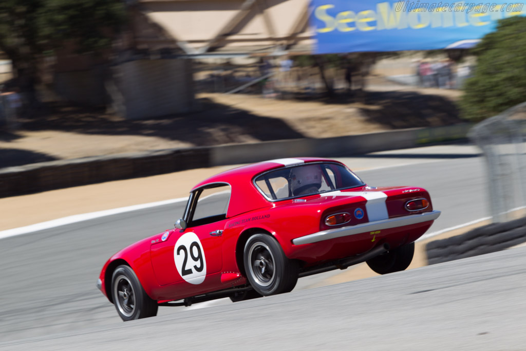 Lotus Elan 26R - Chassis: 26-S2-29 - Driver: Ivan Vercoutere  - 2013 Monterey Motorsports Reunion