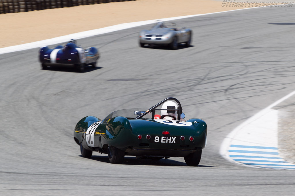 Lotus Eleven - Chassis: 212 - Driver: Stan Andrews  - 2013 Monterey Motorsports Reunion