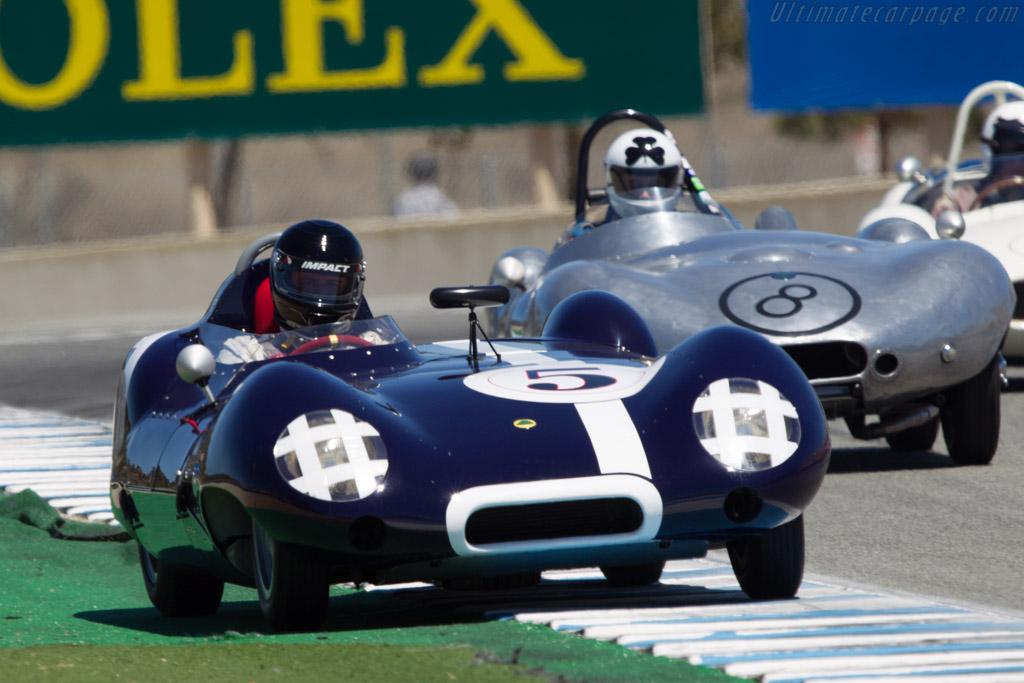 Lotus Eleven Series 2 - Chassis: 548 - Driver: Al Arciero  - 2013 Monterey Motorsports Reunion