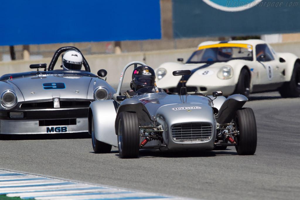 Lotus Seven - Chassis: SB1172 - Driver: Herbert Wetanson  - 2013 Monterey Motorsports Reunion