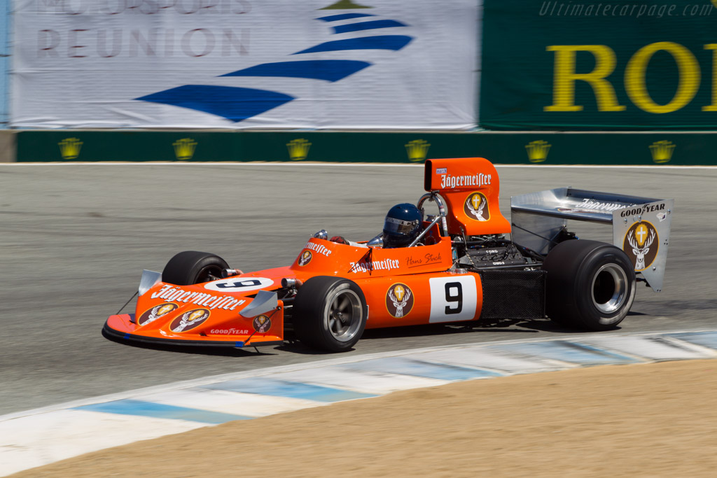 March 741 Cosworth - Chassis: 741/1 - Driver: Steve Cook  - 2013 Monterey Motorsports Reunion