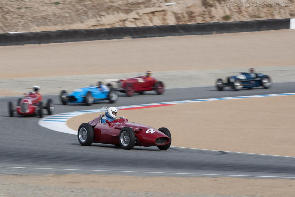 Maserati 250F - Chassis: 2527 - Driver: Jeffrey O'Neil  - 2013 Monterey Motorsports Reunion