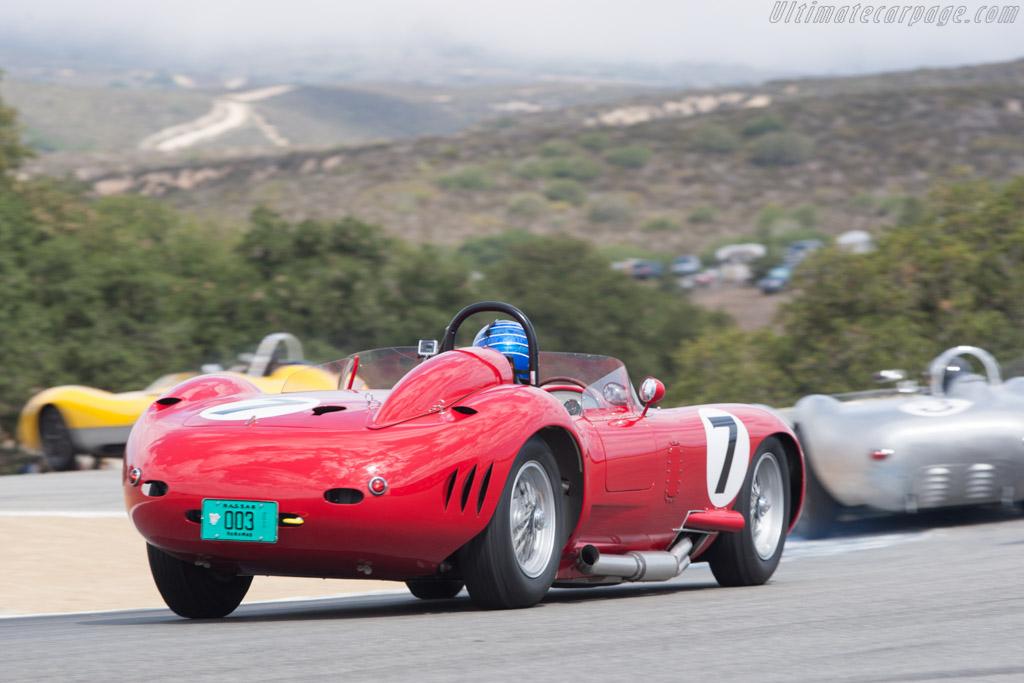 Maserati 450S - Chassis: 4504 - Driver: Rob Walton  - 2013 Monterey Motorsports Reunion