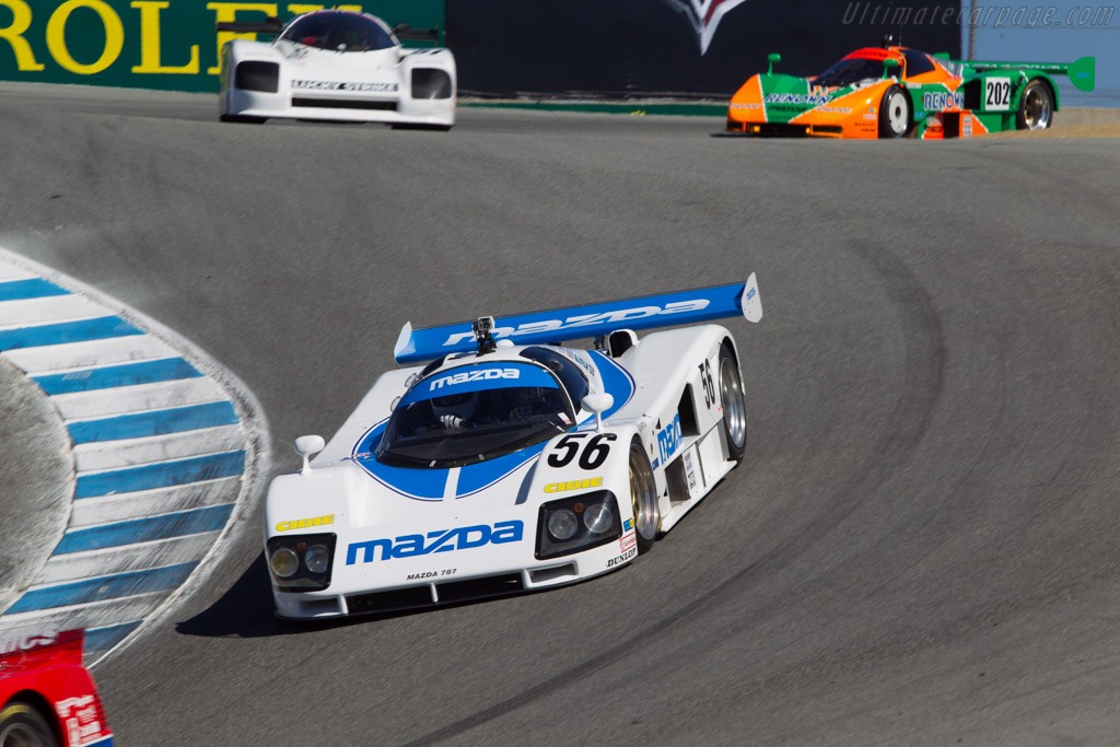 Mazda 787 - Chassis: 787 - 002 - Entrant: Jeremy Barnes - Driver: Robert Davis  - 2013 Monterey Motorsports Reunion