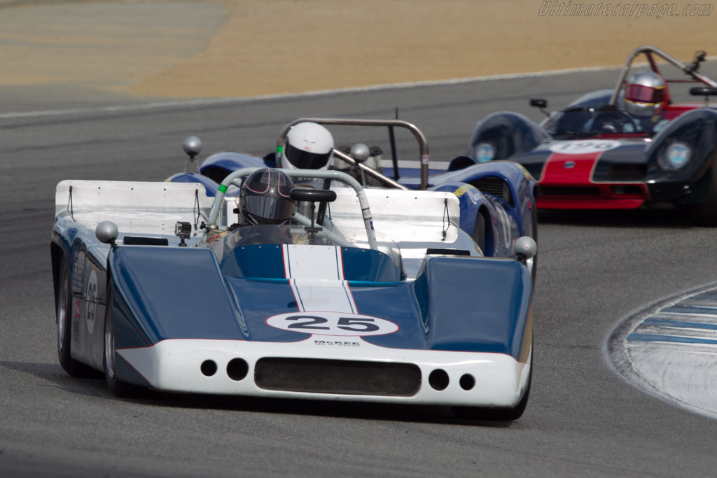 McKee Mk10  - Driver: Norm Cowdrey  - 2013 Monterey Motorsports Reunion