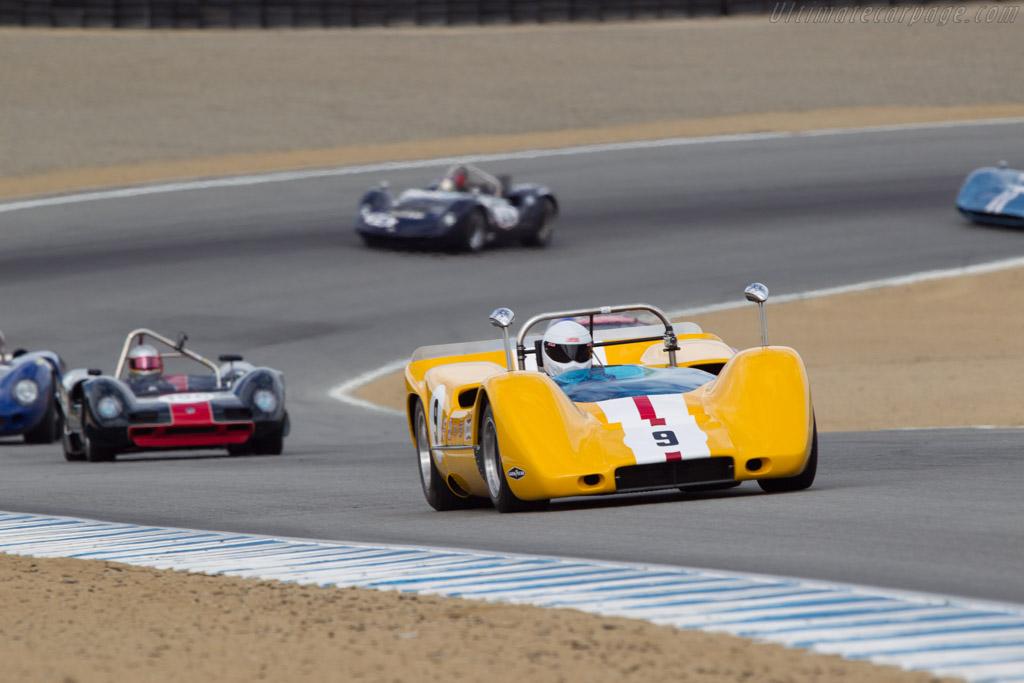 McLaren M6B Chevrolet - Chassis: 50-15 - Entrant: Bob Lee - Driver: Ilya Burkoff  - 2013 Monterey Motorsports Reunion