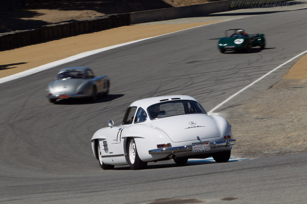 Mercedes-Benz 300 SL - Chassis: 198.040.4500018 - Driver: Steve Marx  - 2013 Monterey Motorsports Reunion