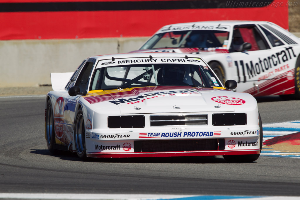 Mercury Capri - Chassis: 010 - Driver: John McKenna  - 2013 Monterey Motorsports Reunion