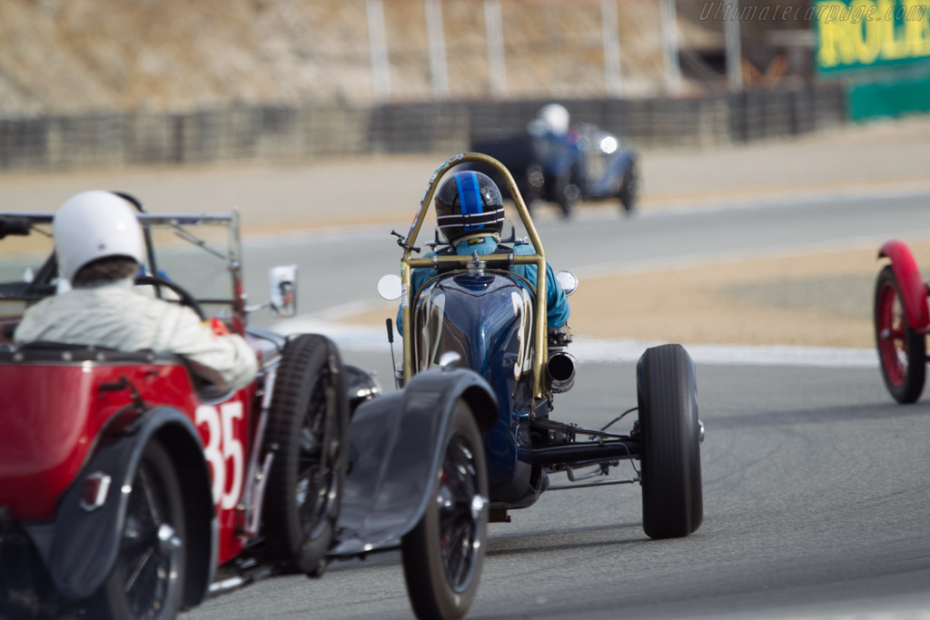 Miller Scofield Ford  - Driver: John Kerr  - 2013 Monterey Motorsports Reunion