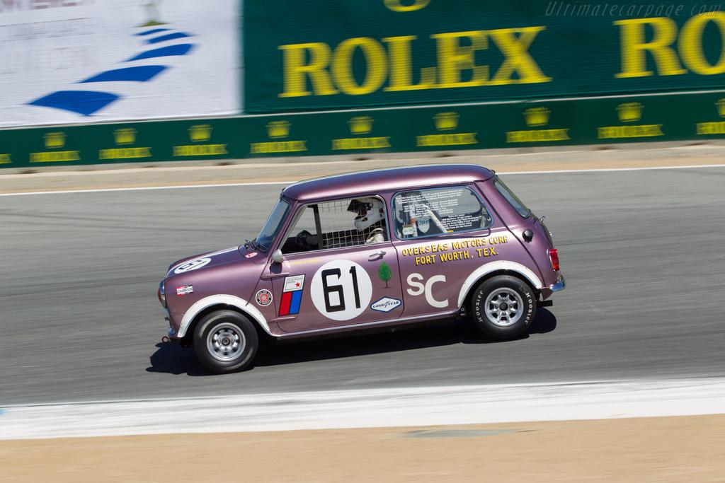 Mini Cooper S  - Driver: Robert Hoemke  - 2013 Monterey Motorsports Reunion