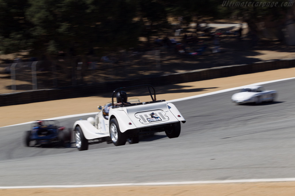 Morgan Plus 4 - Chassis: 2461 - Driver: Doug Sallen  - 2013 Monterey Motorsports Reunion