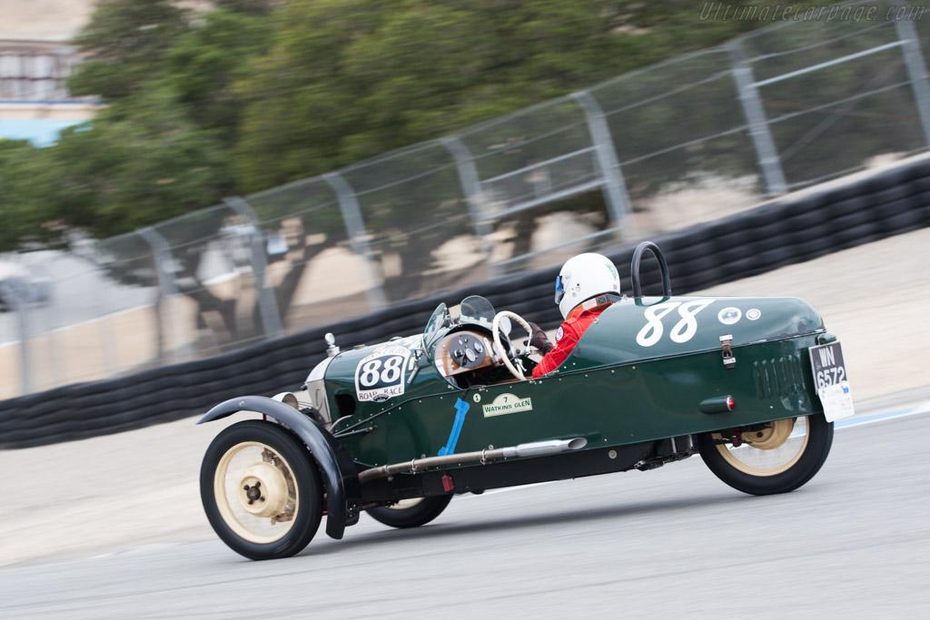 Morgan Sports Aero - Chassis: M318 - Driver: Dale Barry - 2013 Monterey Motorsports Reunion