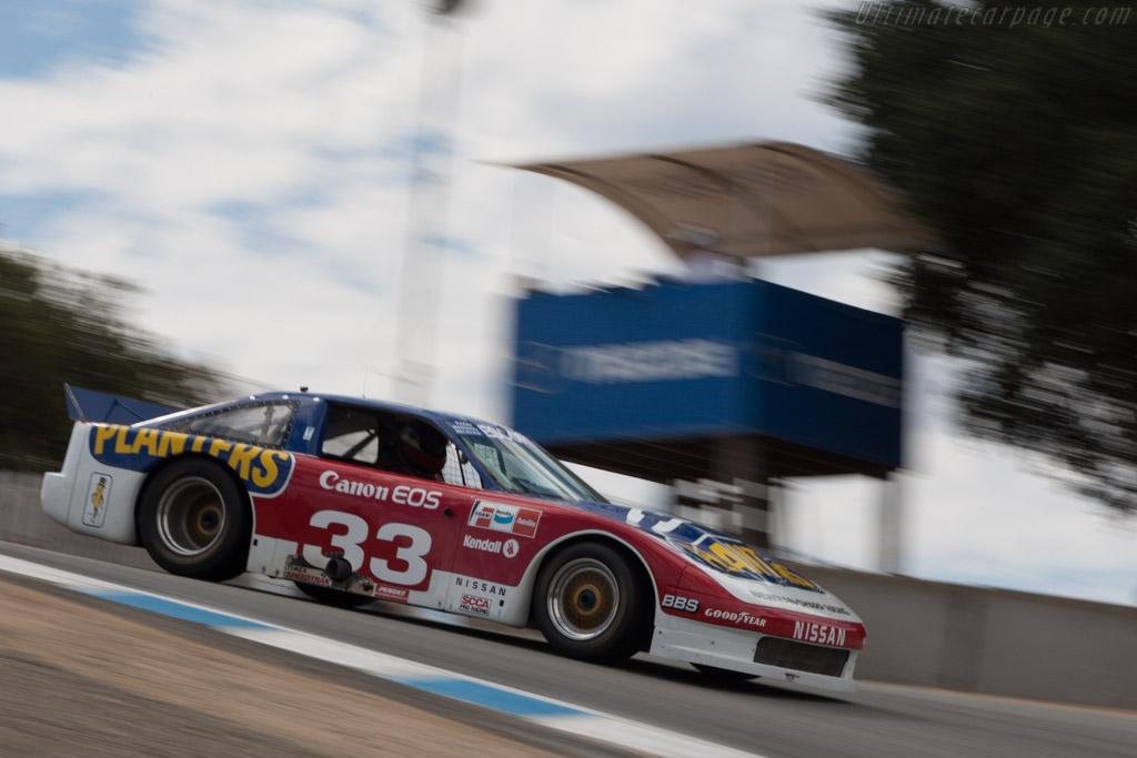 Nissan 300ZX  - Driver: Adam Carolla  - 2013 Monterey Motorsports Reunion