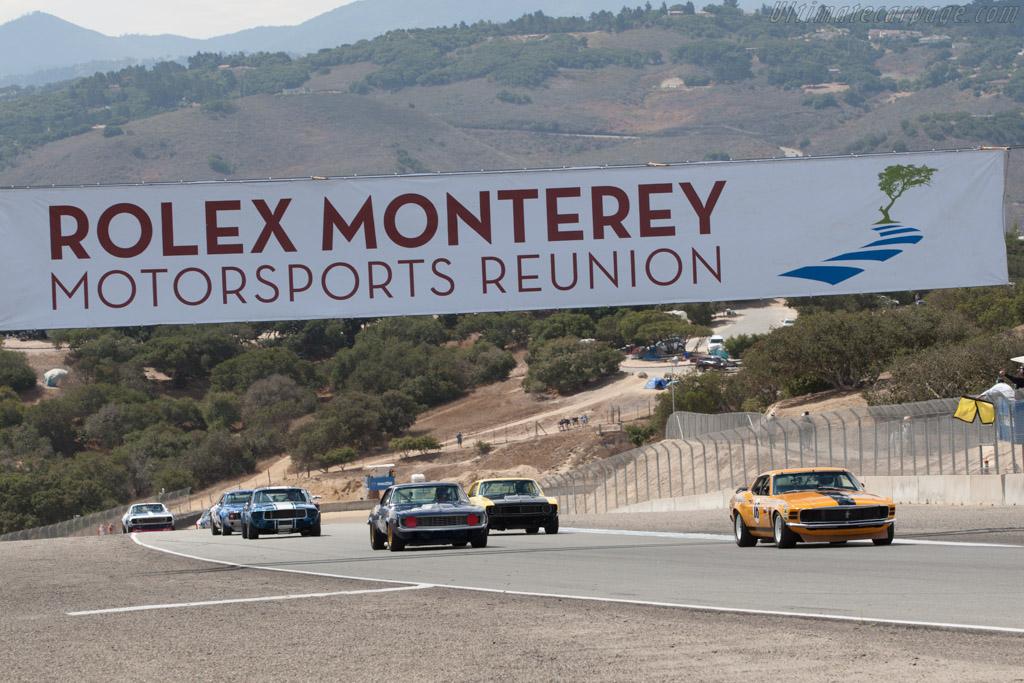 Off they go    - 2013 Monterey Motorsports Reunion