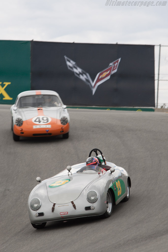Porsche 356 Speedster - Chassis: 84297 - Driver: Andrew Prill  - 2013 Monterey Motorsports Reunion