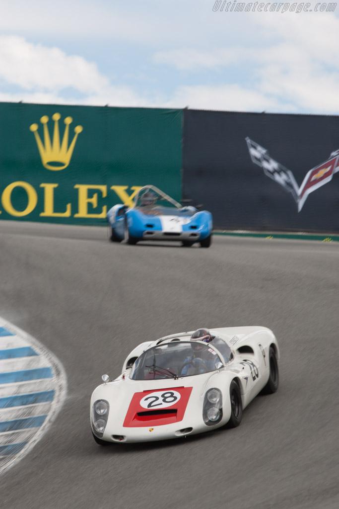Porsche 910 - Chassis: 910-025 - Driver: Stephen Thein  - 2013 Monterey Motorsports Reunion
