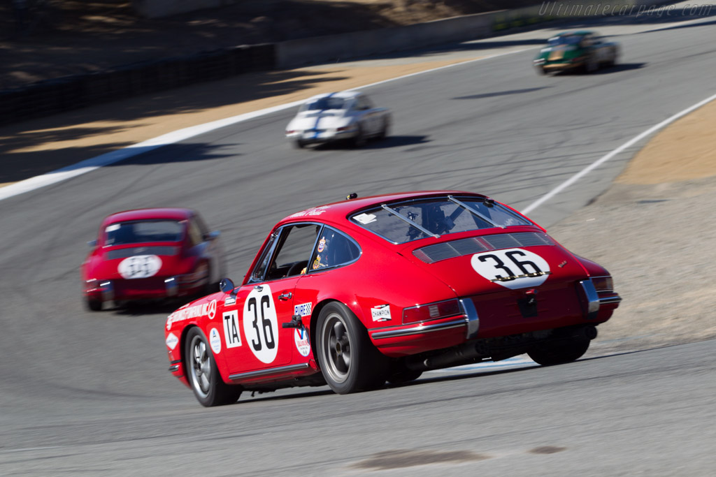 Porsche 911 - Chassis: 301172 - Driver: Jerry Peters  - 2013 Monterey Motorsports Reunion