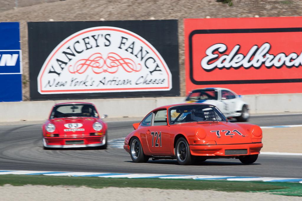 Porsche 911 - Chassis: 911 200 171 - Driver: Richard Naze  - 2013 Monterey Motorsports Reunion