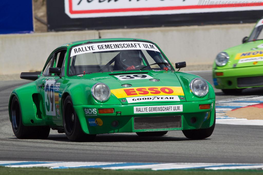 Porsche 911 Carrera RSR 3.0  - Driver: Dennis Singleton  - 2013 Monterey Motorsports Reunion