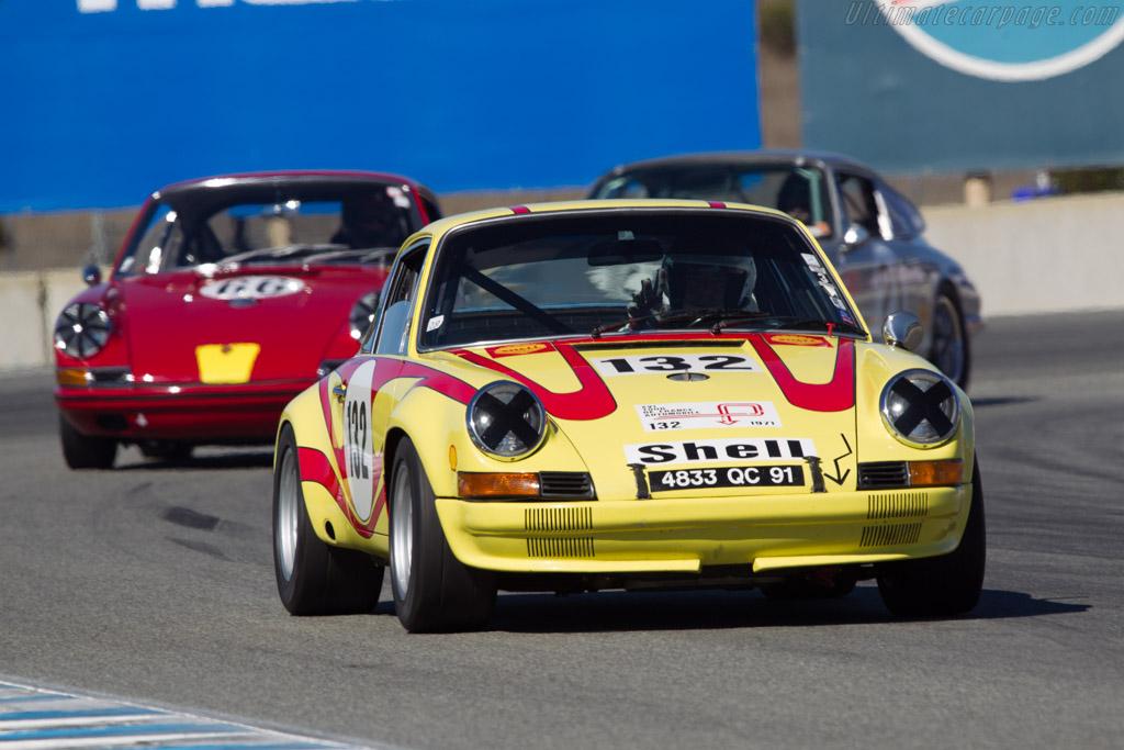 Porsche 911 ST - Chassis: 911 030 0949 - Driver: Jurgen Barth  - 2013 Monterey Motorsports Reunion
