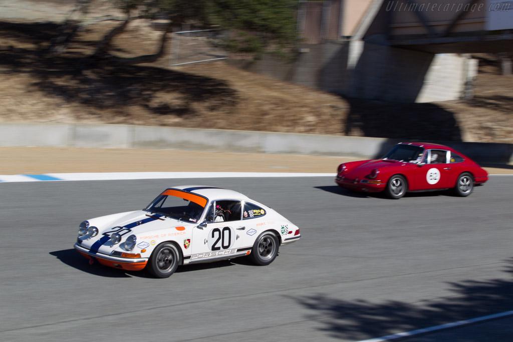 Porsche 911L - Chassis: 11810429 - Driver: Charles Harris  - 2013 Monterey Motorsports Reunion