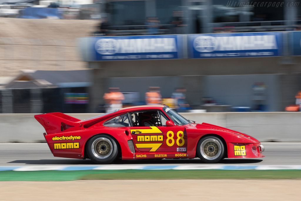 Porsche 935 J - Chassis: 00 00012 - Driver: William 'Chip' Connor  - 2013 Monterey Motorsports Reunion