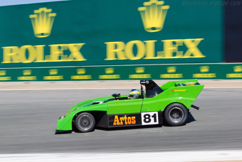 Sauber C4 - Chassis: C04.001 - Driver: Brian Groza  - 2013 Monterey Motorsports Reunion