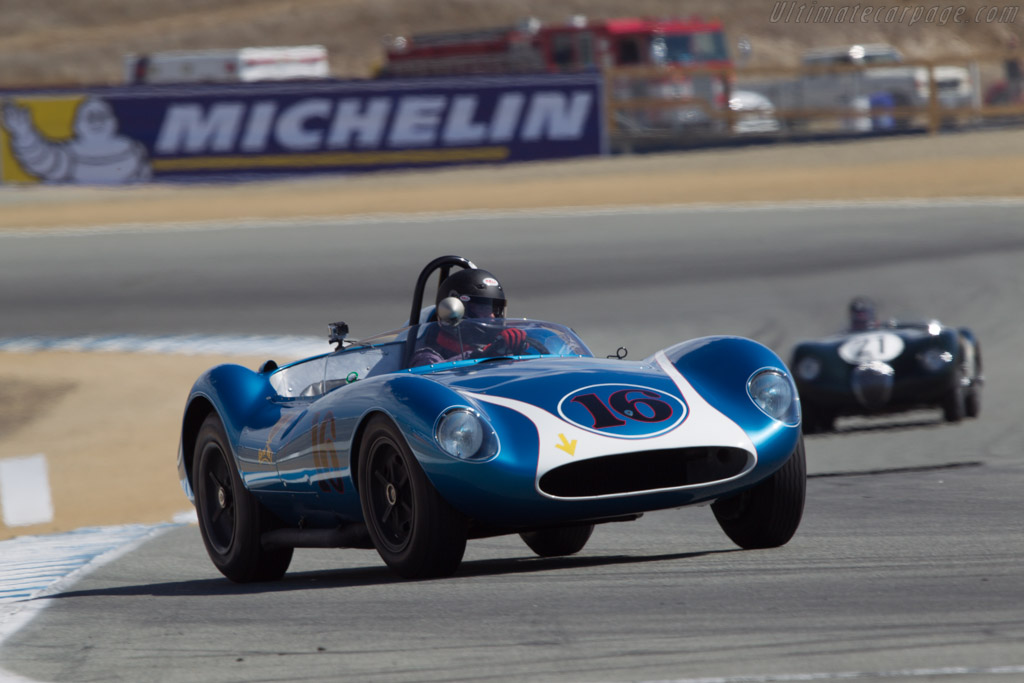 Scarab Mk1 - Chassis: 001 - Entrant: Rob Walton - Driver: David Swig  - 2013 Monterey Motorsports Reunion