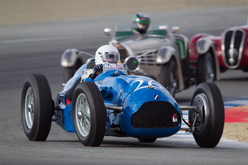 Talbot Lago T26C GP - Chassis: 110052 - Driver: Peter Mullin  - 2013 Monterey Motorsports Reunion
