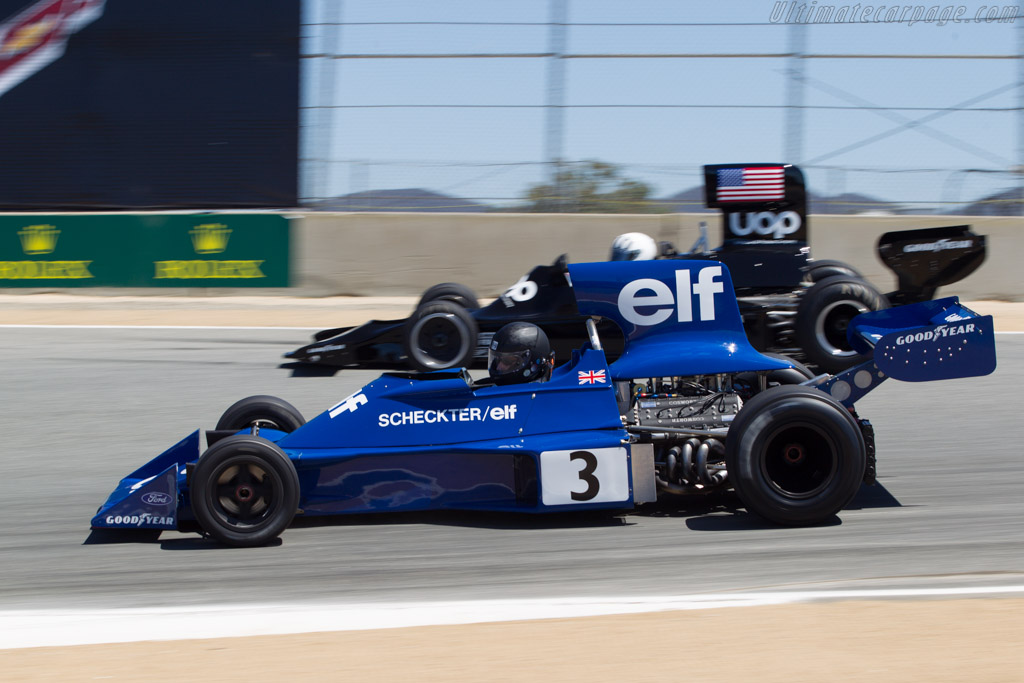 Tyrrell 007 Cosworth - Chassis: 007/3 - Driver: Nicholas Colyvas  - 2013 Monterey Motorsports Reunion