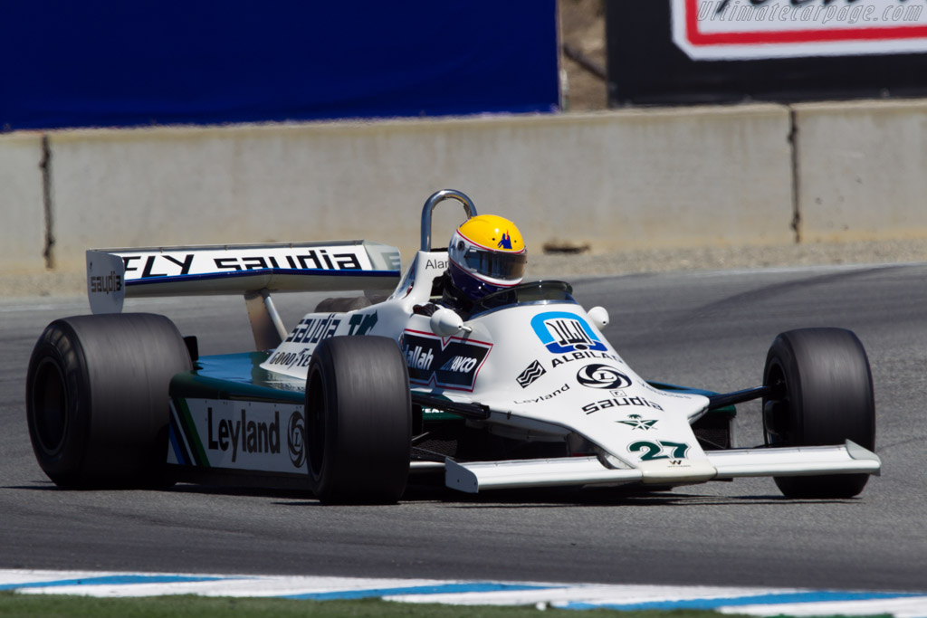 Williams FW07B Cosworth - Chassis: FW07B/06 - Driver: Charles Nearburg  - 2013 Monterey Motorsports Reunion
