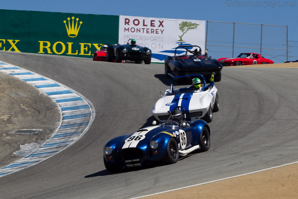 AC Shelby Cobra 427 - Chassis: CSX3195 - Driver: James Farley  - 2014 Monterey Motorsports Reunion
