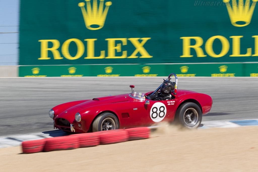 AC Shelby Cobra - Chassis: CSX2086 - Driver: Robert Mirabile  - 2014 Monterey Motorsports Reunion