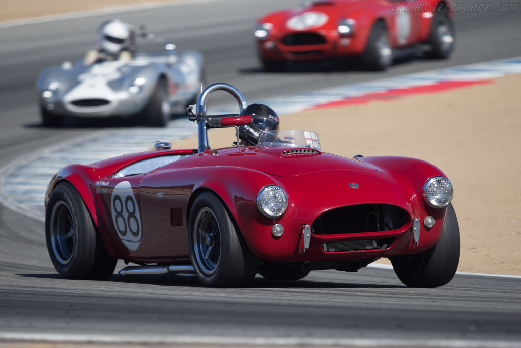 AC Shelby Cobra - Chassis: CSX2086 - Driver: Robert Mirabile  - 2014 Monterey Motorsports Reunion