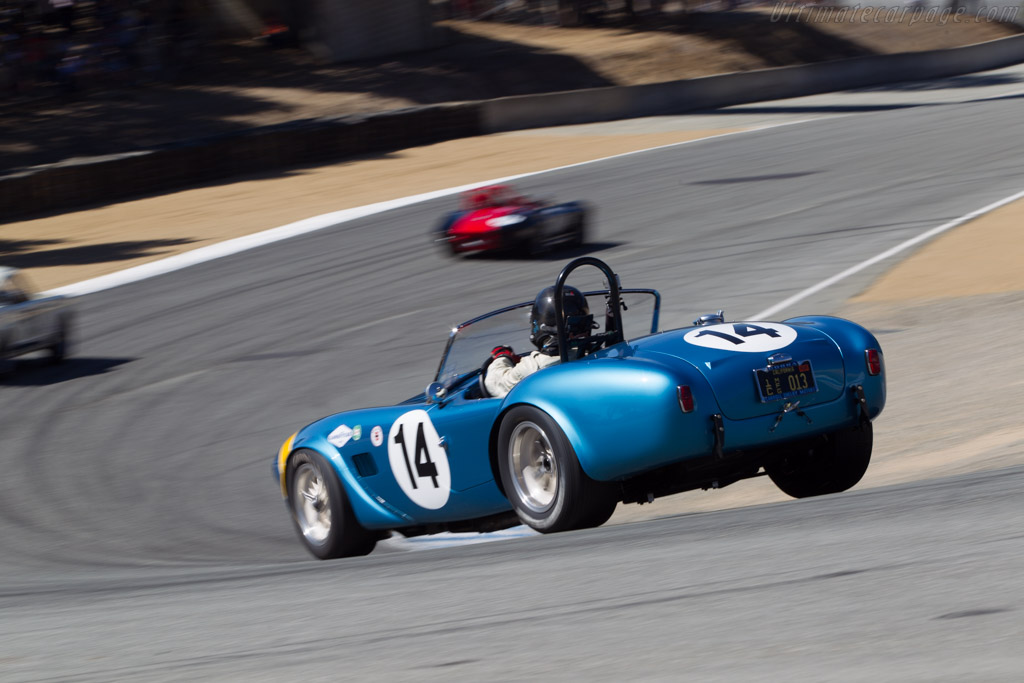 AC Shelby Cobra FIA Roadster - Chassis: CSX2260 - Driver: Chip Connor  - 2014 Monterey Motorsports Reunion