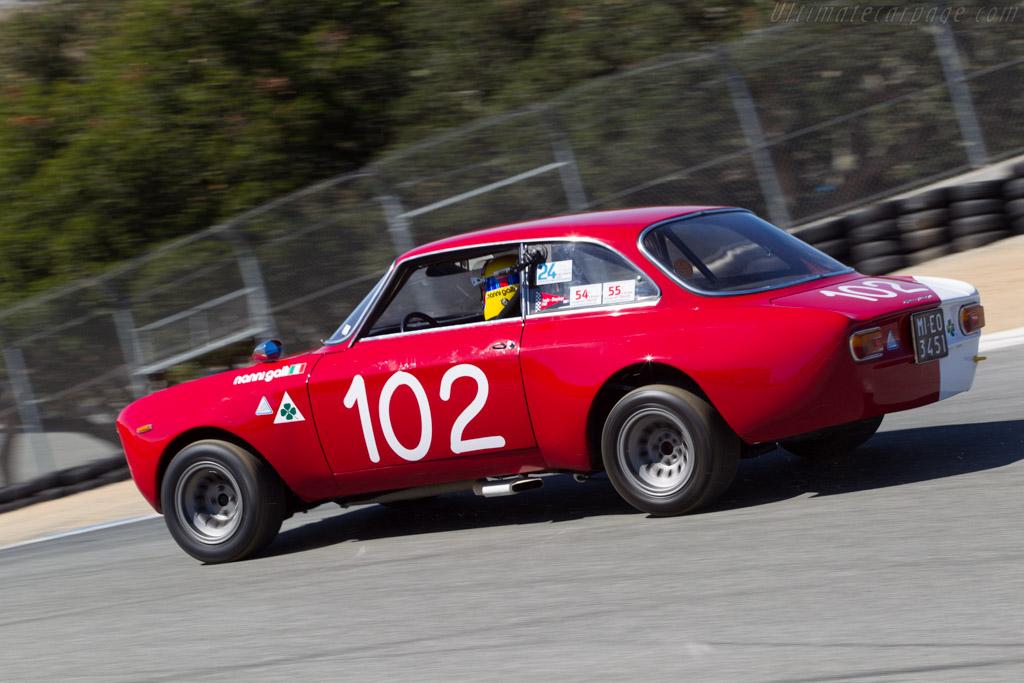 Alfa Romeo 1600 Giulia GTA - Chassis: AR613883 - Driver: Nanni Galli  - 2014 Monterey Motorsports Reunion
