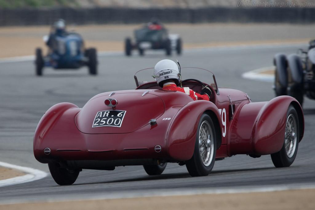 Alfa Romeo 6C 2500 SS - Chassis: 913213 - Driver: Conrad Stevenson  - 2014 Monterey Motorsports Reunion