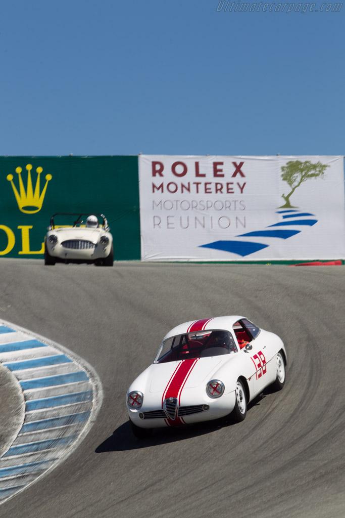 Alfa Romeo SZ - Chassis: AR10126 00018 - Driver: Kaid Marouf  - 2014 Monterey Motorsports Reunion